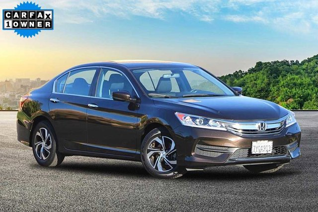 2017 Honda Accord Sedan LX LX CVT Regular Unleaded I-4 2.4 L/144 [4]