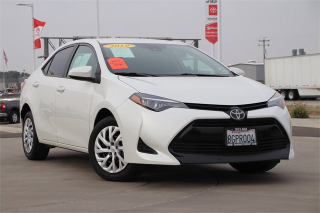2019 Toyota Corolla LE LE CVT Regular Unleaded I-4 1.8 L/110 [7]