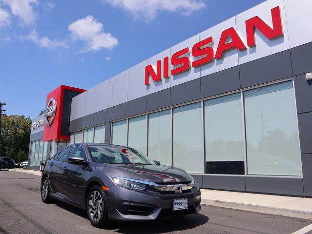 2017 Honda Civic Sedan EX Front Wheel Drive Power Steering ABS 4-Wheel Disc Brakes Brake Assist