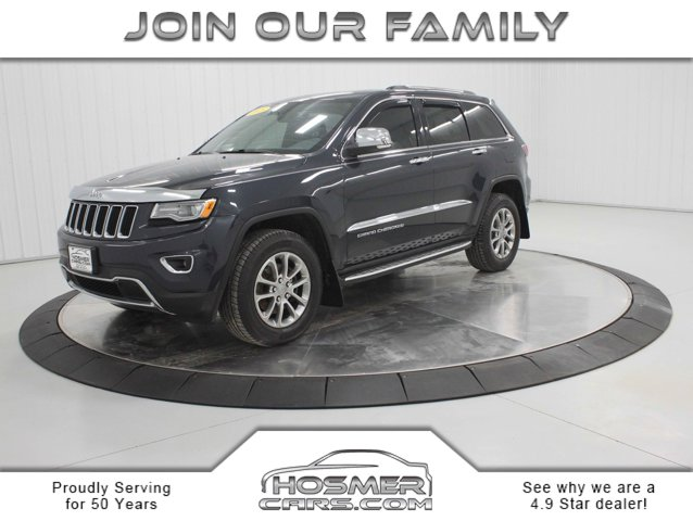Used 2015 Jeep Grand Cherokee in Mason City, IA