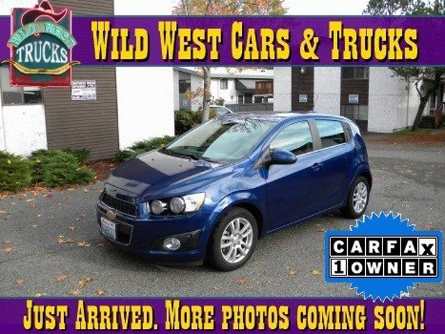 Used 2013 Chevrolet Sonic 5dr HB Auto LT