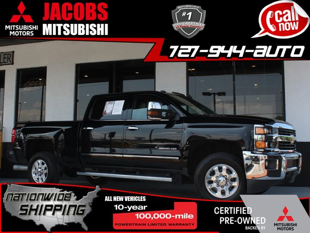 Used 2015 Chevrolet Silverado 2500HD Built After Aug 14 in New Port Richey, FL