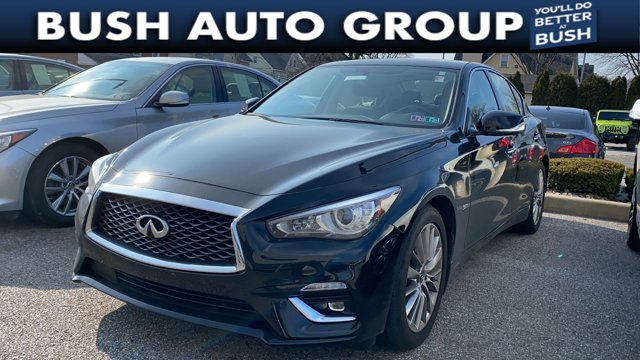 2019 INFINITI Q50 3.0t LUXE 3.0t LUXE AWD Twin Turbo Premium Unleaded V-6 3.0 L/183 [0]