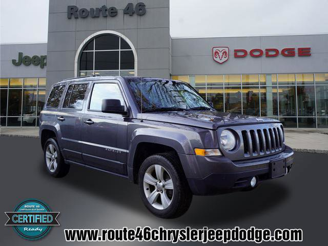 2017 Jeep Patriot Latitude GRANITE CRYSTAL METALLIC CLEARCOAT TRANSMISSION 6-SPEED AUTOMATIC  -in