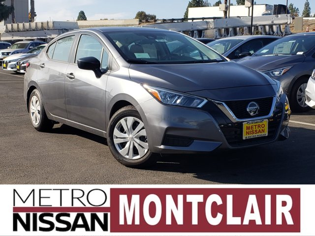 2020 Nissan Versa S S CVT Regular Unleaded I-4 1.6 L/98 [8]