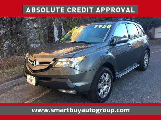 2008 Acura MDX Sport Utility 4D Traction Control Stability Control All Wheel Drive Tires - Fro