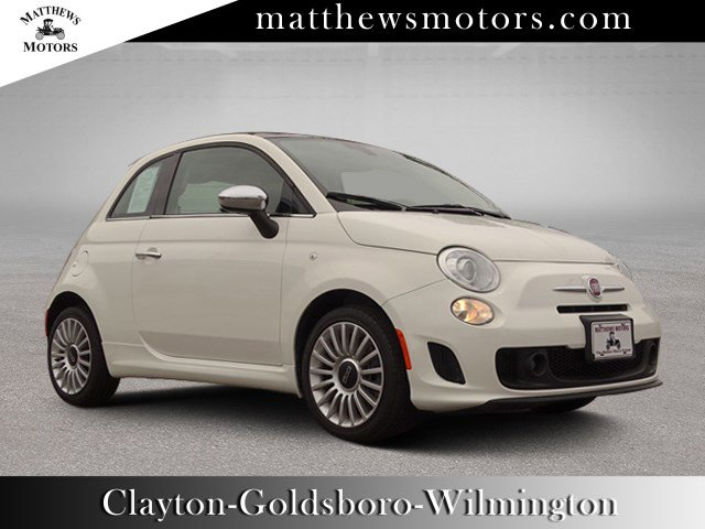 2018 FIAT 500 Lounge w/ Sunroof