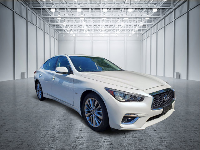2018 INFINITI Q50 3.0t LUXE 3.0t LUXE AWD Twin Turbo Premium Unleaded V-6 3.0 L/183 [5]