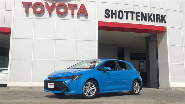 Used 2019 Toyota Corolla Hatchback in Quincy, IL