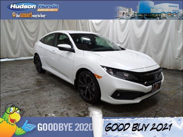 2021 Honda Civic Sedan Sport Sport CVT Regular Unleaded I-4 2.0 L/122 [9]