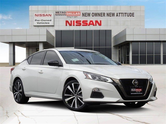 2020 Nissan Altima 2.5 SR 2.5 SR Sedan Regular Unleaded I-4 2.5 L/152 [8]