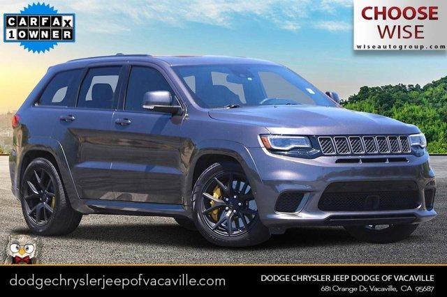 2018 Jeep Grand Cherokee Trackhawk Trackhawk 4x4 *Ltd Avail* Intercooled Supercharger Premium Unleaded V-8 6.2 L/376 [4]