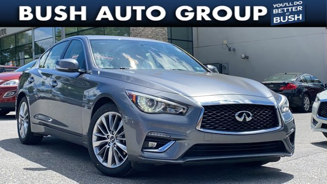 2018 INFINITI Q50 3.0t LUXE 3.0t LUXE AWD Twin Turbo Premium Unleaded V-6 3.0 L/183 [5]