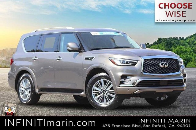 2019 INFINITI QX80 LUXE LUXE AWD Premium Unleaded V-8 5.6 L/339 [15]