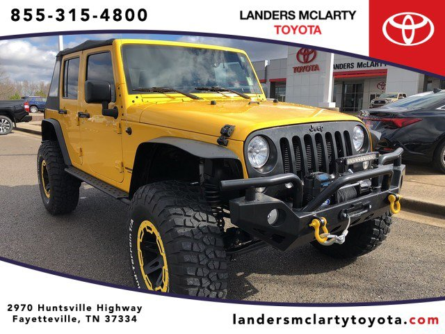 Used 2015 Jeep Wrangler Unlimited in Fayetteville, TN
