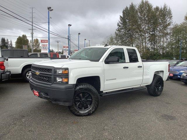 Used 2015 Chevrolet Silverado 1500 4WD Double Cab 143.5 Work Truck