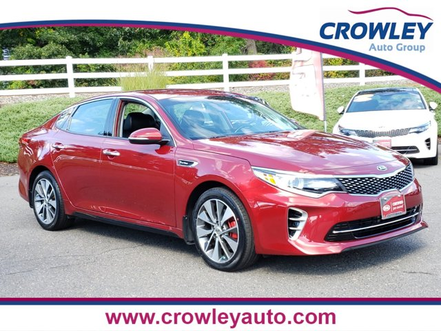 2016 Kia Optima SX REAR BUMPER APPLIQUE REMINGTON RED BLACK  LEATHER SEAT TRIM Turbocharged Fro