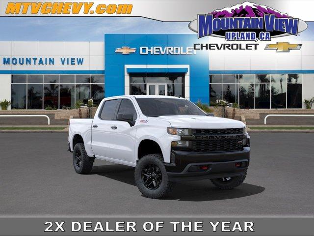 """2021 Chevrolet Silverado 1500 Custom Trail Boss 4WD Crew Cab 147"""" Custom Trail Boss Gas V8 5.3L/325 [34]"""