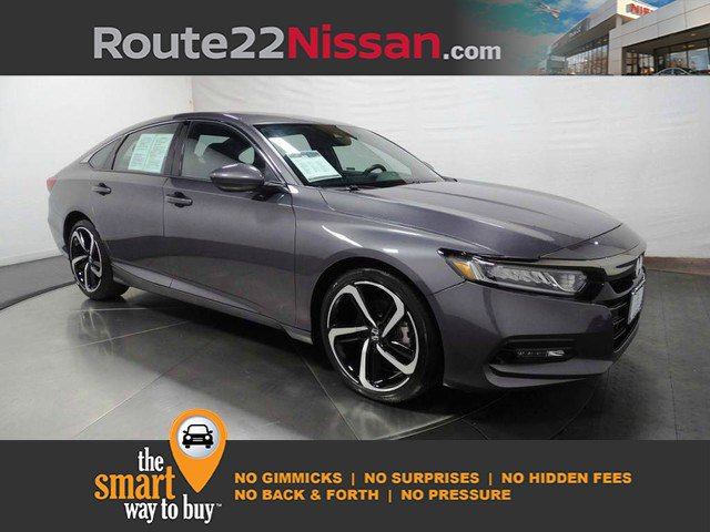 2018 Honda Accord Sedan Sport 1.5T Sport 1.5T CVT Intercooled Turbo Regular Unleaded I-4 1.5 L/91 [11]