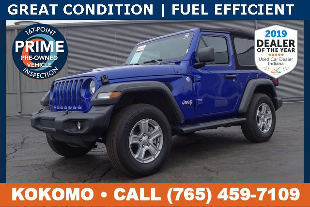Used 2019 Jeep Wrangler in Indianapolis, IN