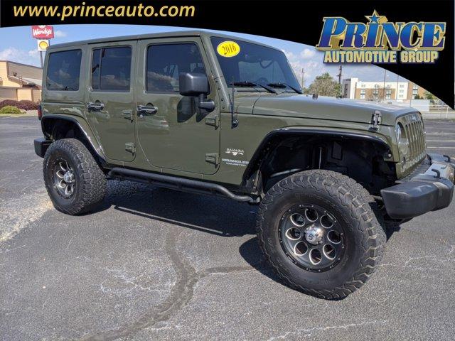 Used 2016 Jeep Wrangler Unlimited in Tifton, GA