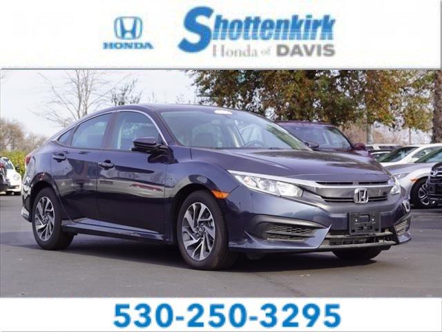 Used 2018 Honda Civic Sedan in Davis, CA