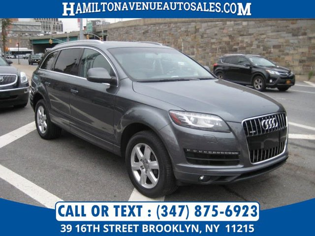 2012 Audi Q7 30T Premium Plus Supercharged All Wheel Drive Power Steering 4-Wheel Disc Brakes