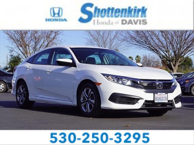 Used 2018 Honda Civic Sedan in Davis, CA