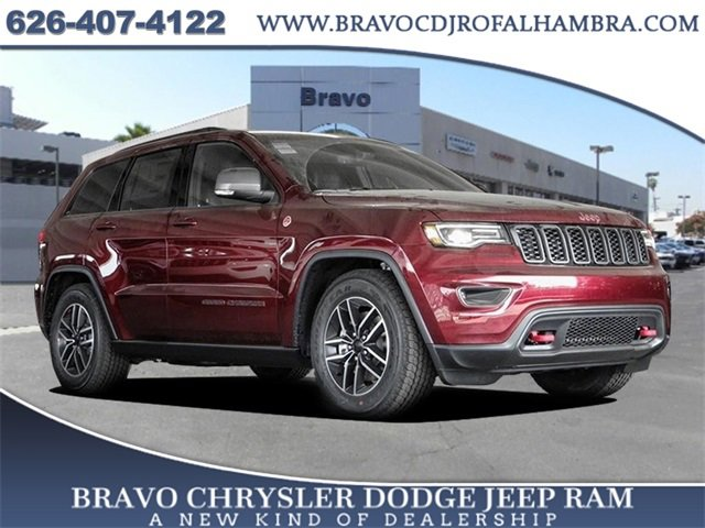 2021 Jeep Grand Cherokee Trailhawk Trailhawk 4x4 Regular Unleaded V-8 5.7 L/345 [19]