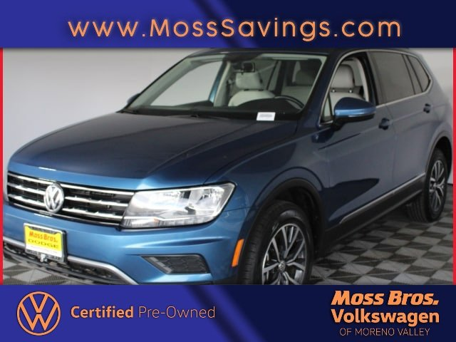 2018 Volkswagen Tiguan 2.0T  Intercooled Turbo Regular Unleaded I-4 2.0 L/121 [1]