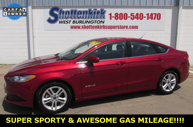 Used 2018 Ford Fusion Hybrid in West Burlington, IA