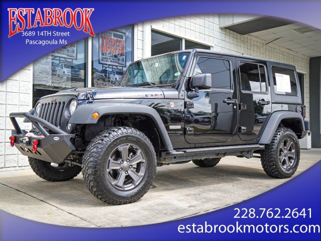 Used 2018 Jeep Wrangler JK Unlimited in Pascagoula, MS