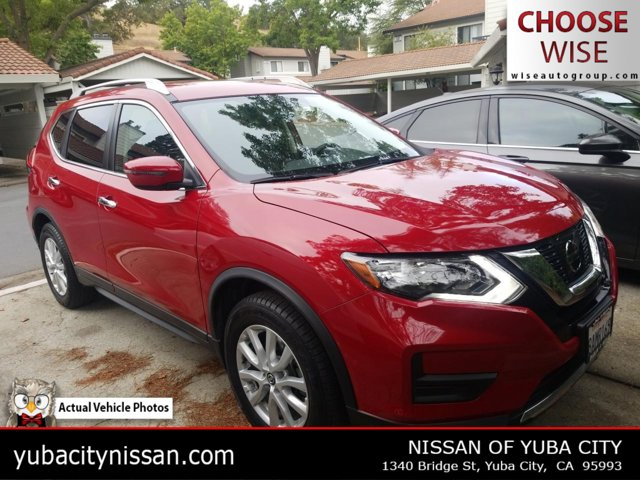 2017 Nissan Rogue SV 2017.5 FWD SV Regular Unleaded I-4 2.5 L/152 [15]
