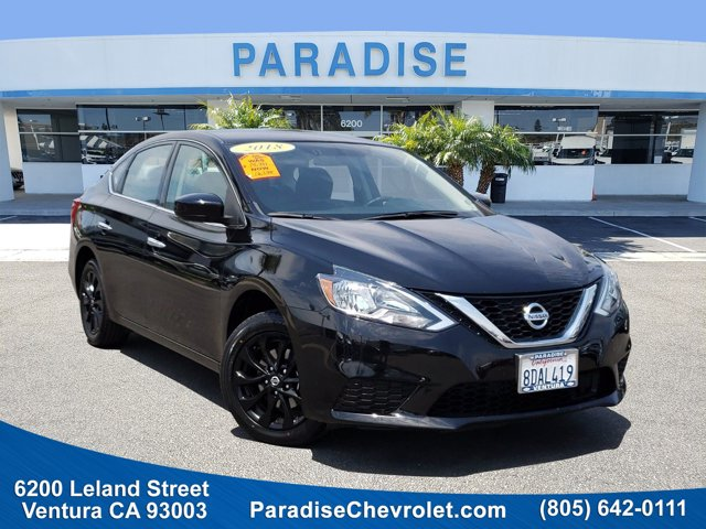 2018 Nissan Sentra S S CVT Regular Unleaded I-4 1.8 L/110 [1]