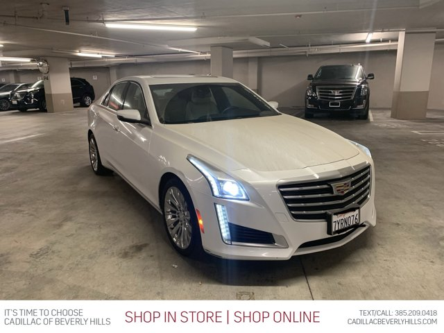 2017 Cadillac CTS Sedan Luxury RWD 4dr Sdn 2.0L Turbo Luxury RWD Turbocharged Gas I4 2.0L/122 [7]
