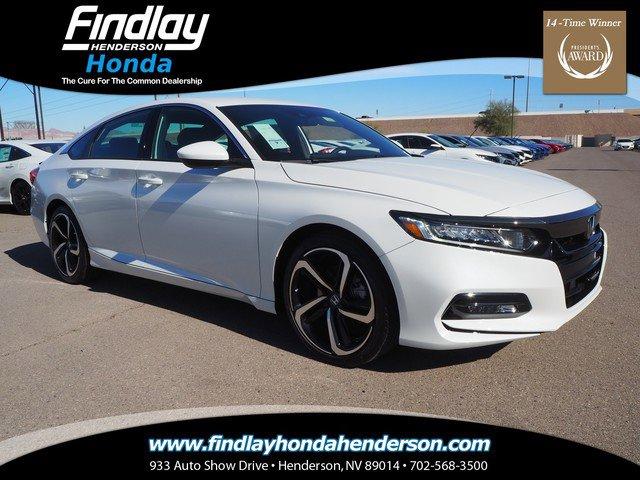 New 2020 Honda Accord Sedan in Las Vegas, NV