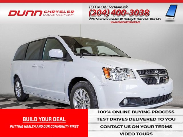 2020 Dodge Grand Caravan * PREMIUM PLUS * REAR PARK ASSIST * Premium Plus 2WD Regular Unleaded V-6 3.6 L/220 [3]