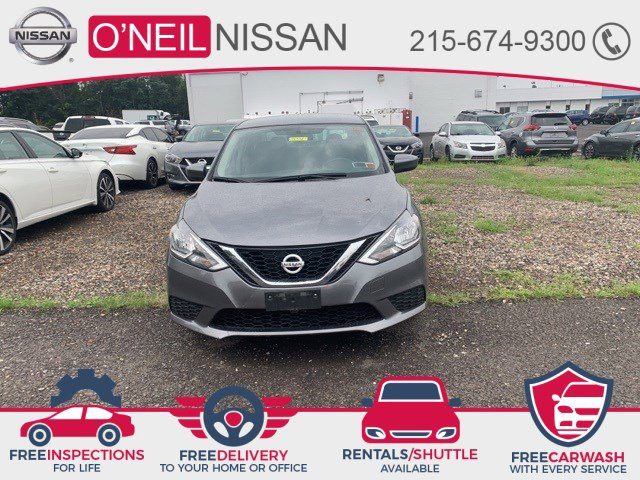 2017 Nissan Sentra SV SV CVT Regular Unleaded I-4 1.8 L/110 [1]