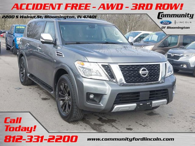 Used 2017 Nissan Armada in Bloomington, IN
