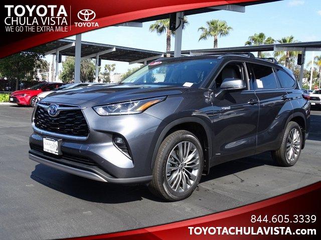 New 2020 Toyota Highlander Hybrid in Chula Vista, CA