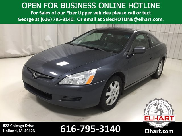 Used 2005 Honda Accord Coupe in Holland, MI