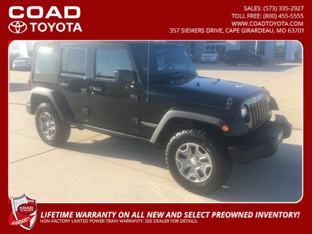 Used 2014 Jeep Wrangler Unlimited in Cape Girardeau, MO