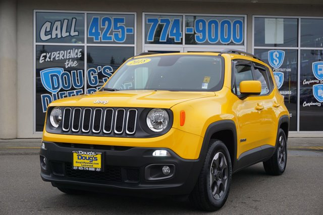 Used 2018 Jeep Renegade in Lynnwood Seattle Kirkland Everett, WA
