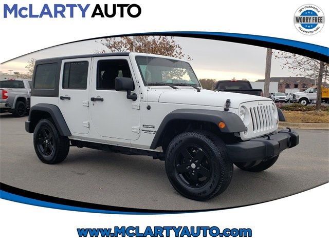 Used 2015 Jeep Wrangler Unlimited in North Little Rock, AR