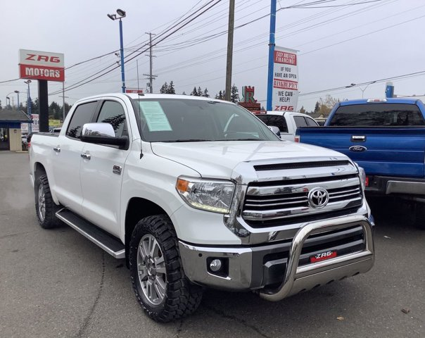 Used 2017 Toyota Tundra 4WD 1794 Edition CrewMax 5.5' Bed 5.7L