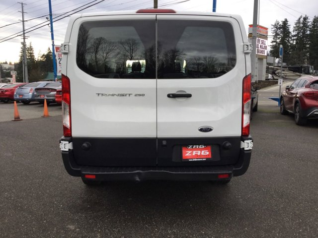 Used 2018 Ford Transit Van T-250 148 Low Rf 9000 GVWR Swing-Out RH Dr