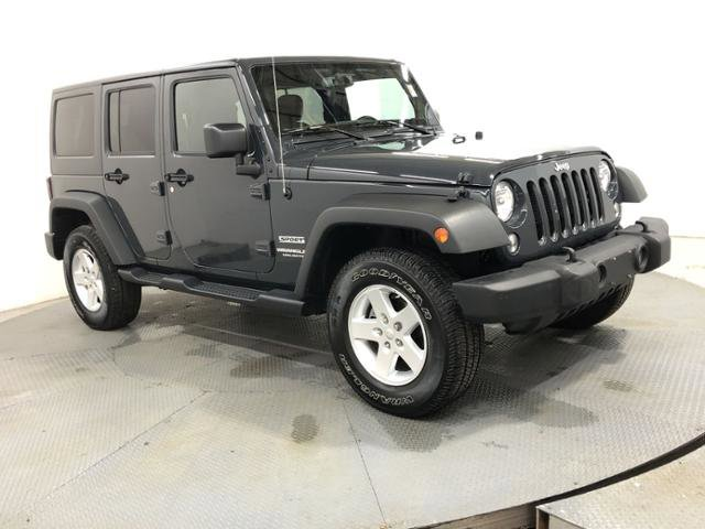 Used 2017 Jeep Wrangler Unlimited in Greenwood, IN