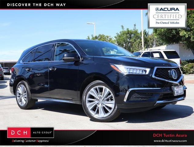 Used 2017 ACURA MDX TECH ENT PK in , CA