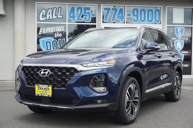 New 2020 Hyundai Santa Fe in Edmonds Lynnwood Seattle Kirkland Everett, WA