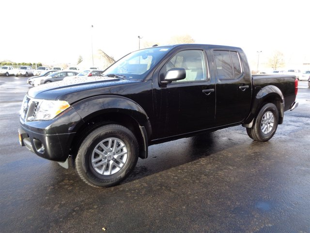 New 2017 Nissan Frontier Crew Cab 4x4 SV V6 Auto